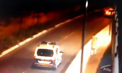 Police Car Caught by Human Speed Camera Trap. Warning Seriously Funny Video